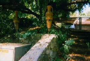 Ruth Wilson's Urns to link Taormina in Ojai with Taormina on Sicily.